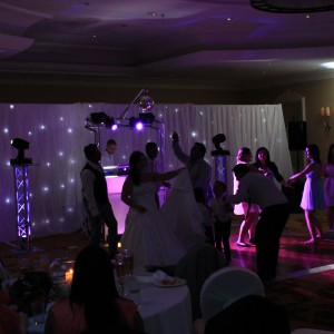 LED Starcloth & Draping Hire