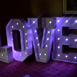 Giant LED Letter Hire